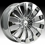 Pacer 776C 776 Silhouette Chrome Custom Rims Wheels