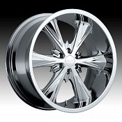 Panther 241C 241 Juice Chrome Custom Rims Wheels