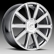 Platinum 410 Divine Chrome PVD Custom Wheels Rims