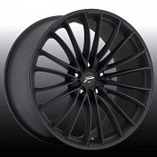 Platinum 417 Monarch Matte Black Custom Rims Wheels