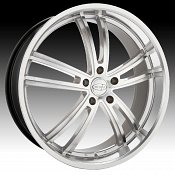 Privat Atlantik Machined Silver Custom Wheels Rims