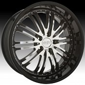 Privat Bremsen Machined Black Custom Wheels Rims