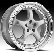 Privat Kup Silver Custom Wheels Rims