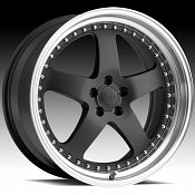 Privat Legende Matte Graphite Custom Wheels Rims