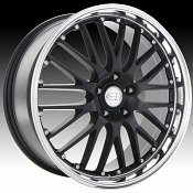Privat Netz Gloss Black Custom Wheels Rims