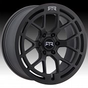 RTR 950SB Tech 6 Satin Black Custom Wheels Rims