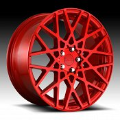Rotiform BLQ R109 Candy Red Custom Wheels Rims