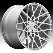 Rotiform BLQ R110 Machined Silver Custom Wheels Rims