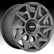 Rotiform CVT R128 Matte Anthracite Custom Wheels Rims