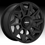 Rotiform CVT R129 Matte Black Custom Wheels Rims