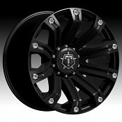 TIS 534B Satin Black Custom Rims Wheels