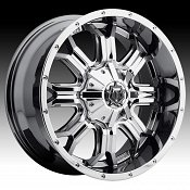 TIS 535V Chrome PVD Custom Wheels Rims