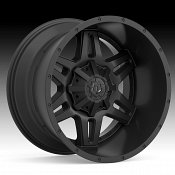 TIS Wheels 538B Satin Black Custom Truck Wheels Rims