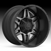 TIS 538MBDT Machined Black Dark Tint Custom Wheels Rims