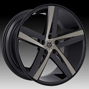 TIS 541BZ Black Machined Bronze Tint Custom Wheels Rims