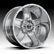 TIS 543C Chrome Custom Wheels Rims