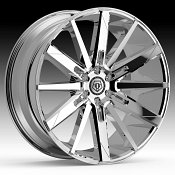 TIS Wheels 545C Chrome Custom Wheels Rims