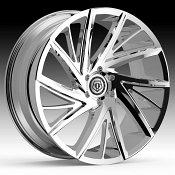 TIS 546C Chrome Plated Custom Wheels Rims