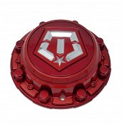 CAP-544RTM-6-TIS / TIS Red Bolt-On Center Cap