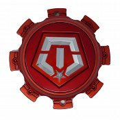 CAP-544RTM-8-TIS / TIS Red Bolt-On Center Cap
