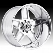 TIS Forged F50P Polished Custom Wheels Rims