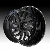 TIS Wheels 544BM Gloss Black Milled Custom Wheels Rims