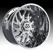 TIS Wheels 544C Chrome Custom Truck Wheels Rims