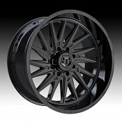 TIS Wheels 547B Gloss Black Custom Truck Wheels