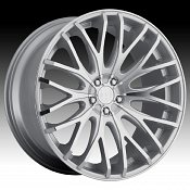TIS 537MS TIS37 Machined Silver Custom Rims Wheels