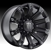 TIS Monster Energy Edition Style 534B Matte Black Custom Rims Wh