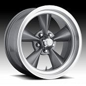 U.S. Mags U105 Standard Silver Machined Custom Wheels Rims