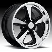 U.S. Mags U109 Bandit Black Machined Custom Wheels Rims