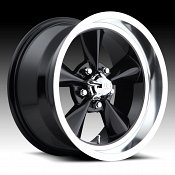 U.S. Mags U107 Standard Black Custom Wheels Rims