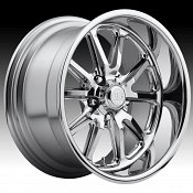 US Mags Rambler U110 Chrome Custom Wheels Rims