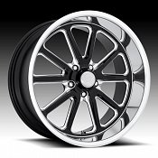 US Mags Rambler U117 Black Milled Custom Wheels Rims