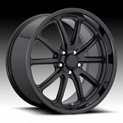 US Mags Rambler U123 2-Tone Black Custom Wheels Rims