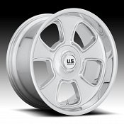US Mags BLVD U126 Chrome Custom Wheels Rims