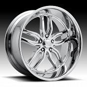 US Mags C-TEN U127 Chrome Custom Wheels Rims