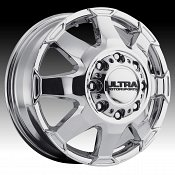 Ultra 025 Phantom Dually Chrome Custom Wheels Rims