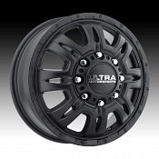Ultra 049 Predator Dually Satin Black Custom Wheels Rims