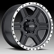 Ultra 176 Vegabond Gloss Black Machined Custom Wheels Rims