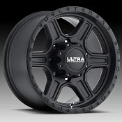 Ultra 176 Vegabond Satin Black Custom Wheels Rims