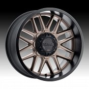 Ultra 231BZ Butcher Dark Satin Bronze Custom Wheels Rims