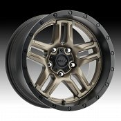 Ultra 258BZ Prowler Dark Satin Bronze Custom Wheels Rims