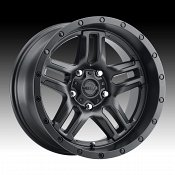 Ultra 258SB Prowler Satin Black Custom Wheels Rims