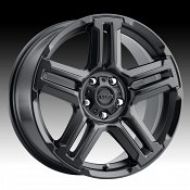 Ultra 258SB Prowler CUV Satin Black Custom Wheels Rims