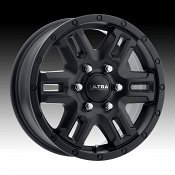 Ultra 470SB Judgement Van Satin Black Custom Wheels Rims