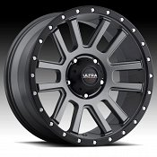 Ultra X107 Xtreme Satin Graphite Custom Wheels