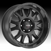 Ultra X108 Xtreme Satin Black Custom Wheels