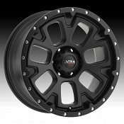 Ultra X109 Xtreme Satin Black Custom Wheels